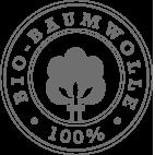 100% bio-baumwolle